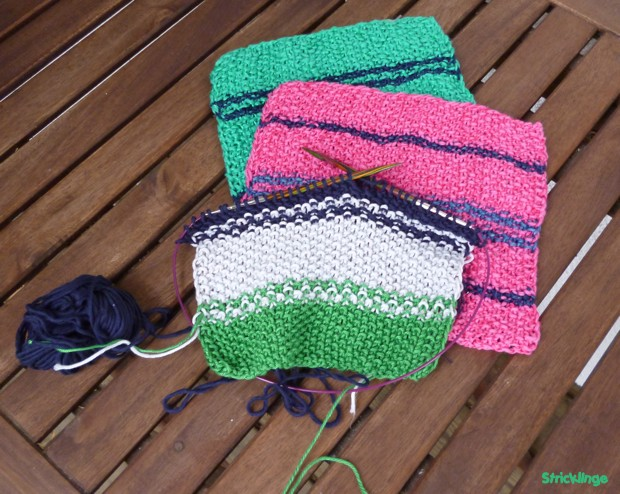 knit dishcloth