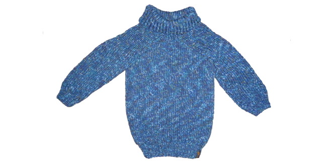 Winterpulli stricken für Kinder