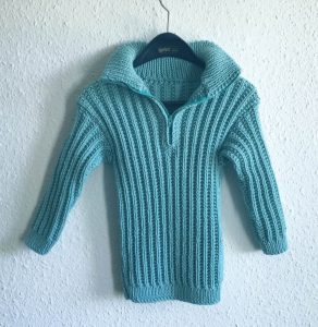 Kinderpulli Stricken